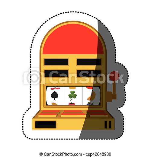 Isolated slot machine design - csp42648930