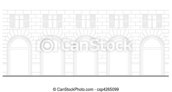 Neo-renaissance architecture - csp4265099