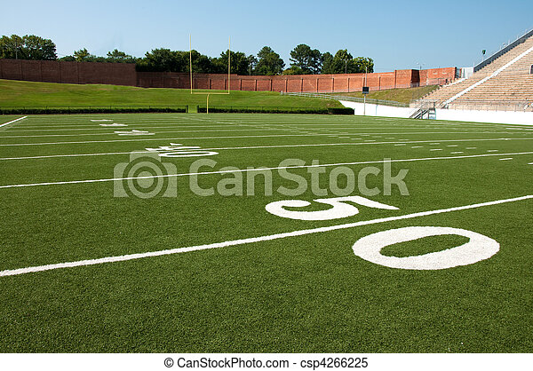 American Football Field - csp4266225