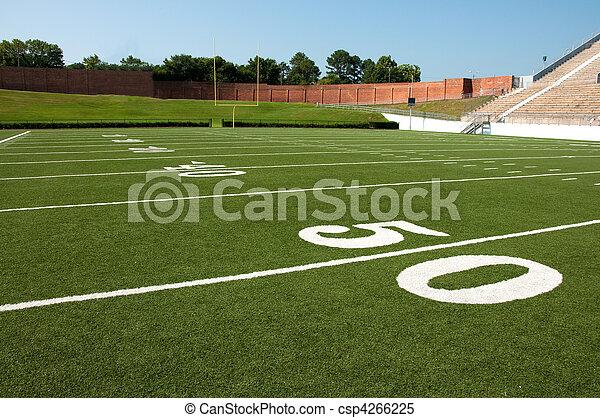 American Football Field  - csp4266225