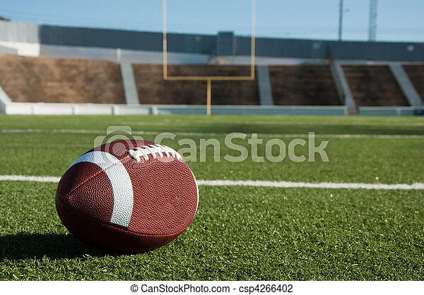 American Football on Field - csp4266402