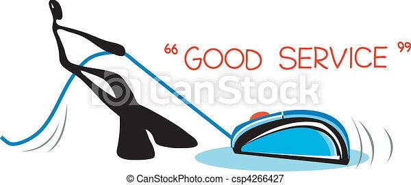 shadow man spirit to service - csp4266427
