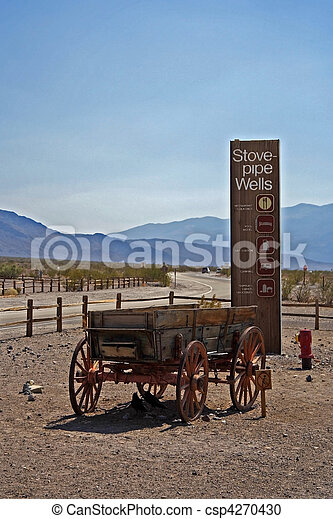 Stovepipe Wells - csp4270430