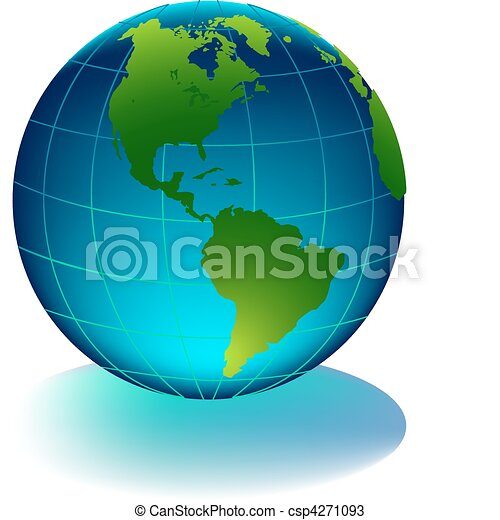 Glossy earth - csp4271093