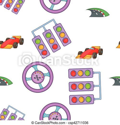 vecteur voiture style course dessin anim modle