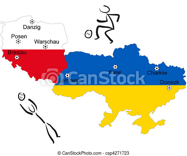 European Football Championship 2012 Poland/Ukraine - csp4271723
