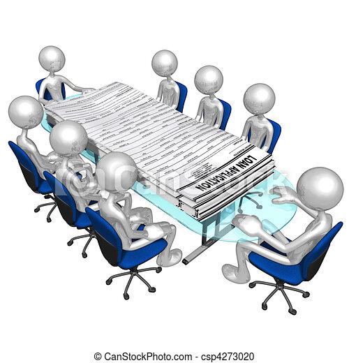 Loan Applications Meeting - csp4273020