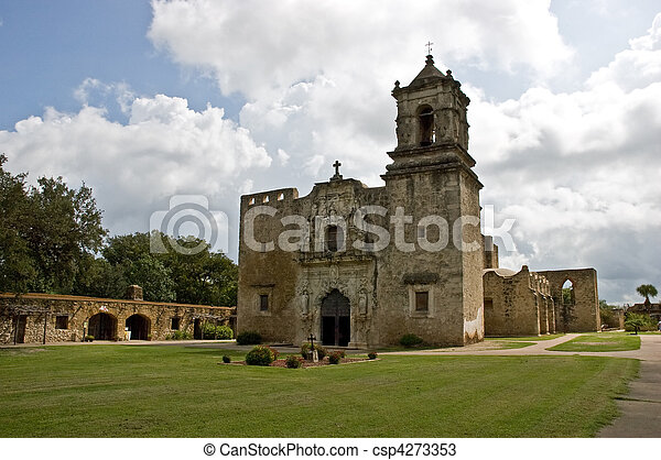 San Jose Mission, San Antonio, Texas - csp4273353