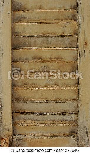 image de port bois peint blanc fen tre volet csp4273646 recherchez des photographies. Black Bedroom Furniture Sets. Home Design Ideas