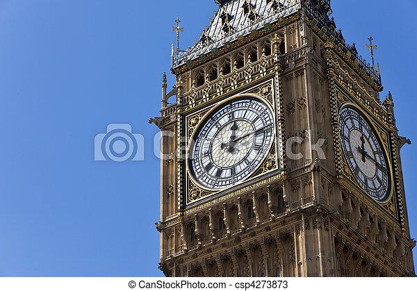 Big Ben, London, England - csp4273873