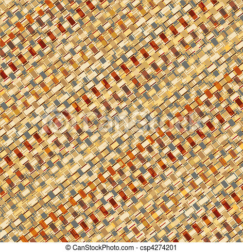 Basketry weave - csp4274201