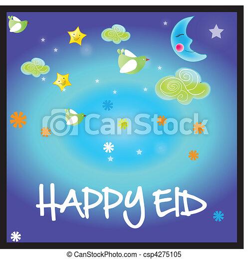 illustration of Islamic Art design - csp4275105