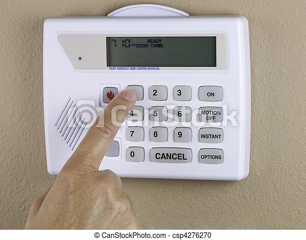 home security - csp4276270