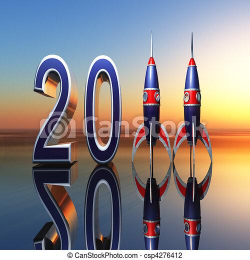 New Year 2011 - csp4276412