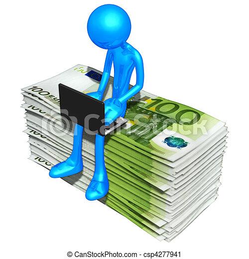 Online Banking Clipart Online Banking Csp4277941