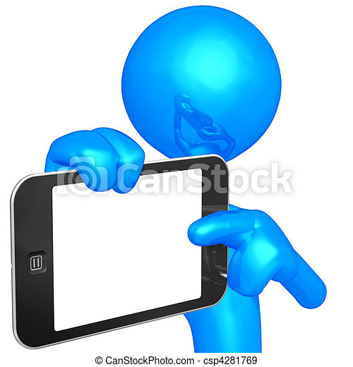 Touch Screen Mobile Device - csp4281769