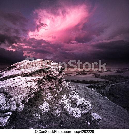 Evening Storm - csp4282228