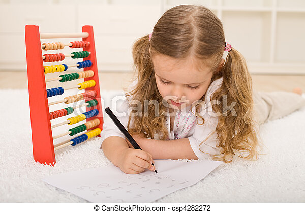 Back to school theme - refreshing the knowledge - csp4282272