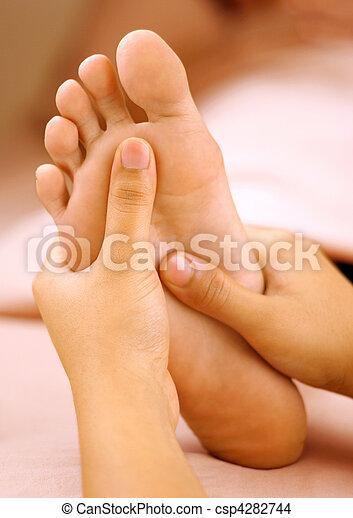 foot massage - csp4282744