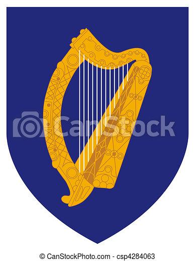 Ireland Coat Arms - csp4284063