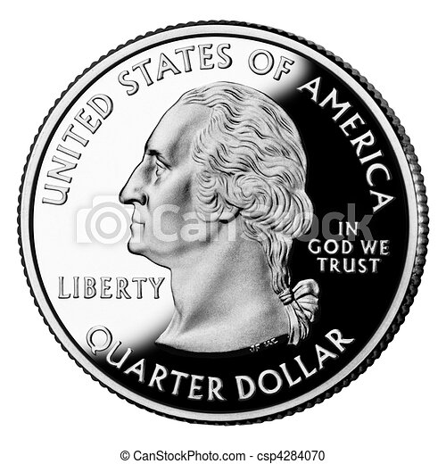 US Quarter Dollar - csp4284070
