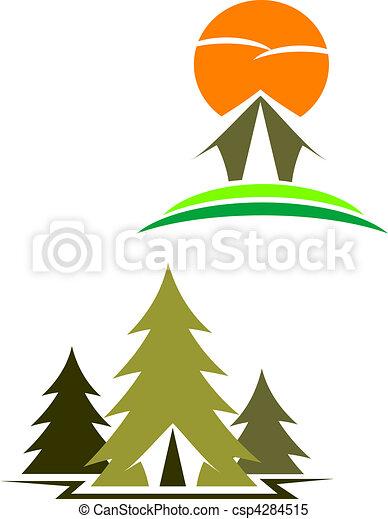 Travel symbols - csp4284515