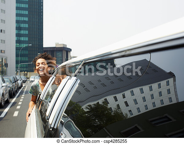 tourist on limousine - csp4285255