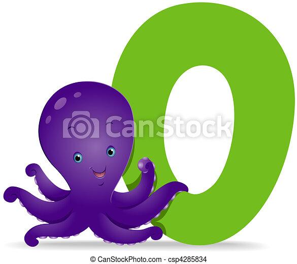 O for Octopus - csp4285834