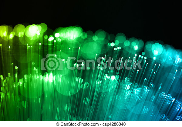 Fiber optics background with lots of light spots - csp4286040
