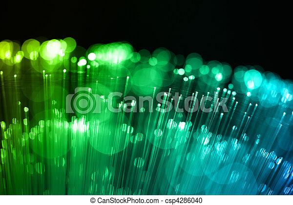 Fiber optics background with lots of light spots - csp4286040