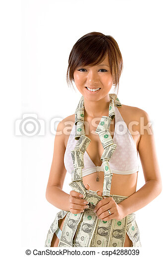 Clothed in money - csp4288039