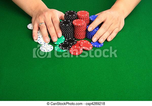 betting it all - csp4289218