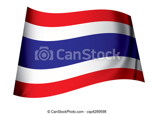 Thailand flag - csp4289598