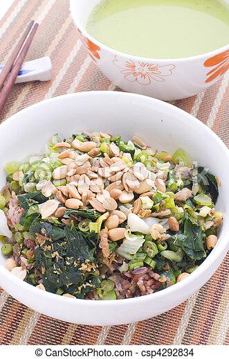 chinese food hakka lui cha - csp4292834