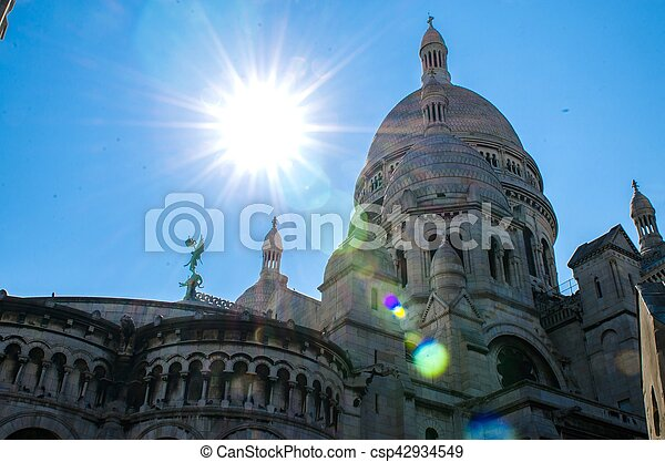 the beautiful City of Paris in France