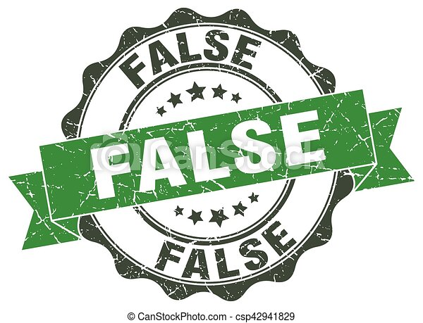 false stamp. sign. seal - csp42941829