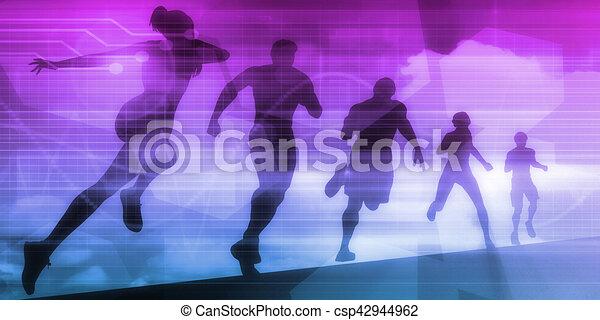 Exercise Technology - csp42944962