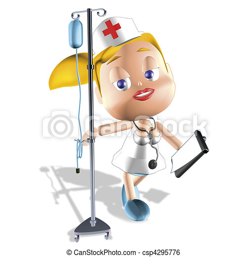 nurse - stock illustration, royalty free illustrations, stock clip art ...