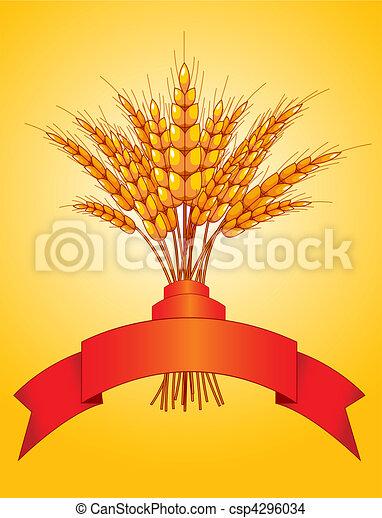 Ears of wheat - csp4296034