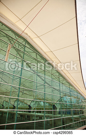 San Diego Convention Center Architectural Abstract - csp4299365
