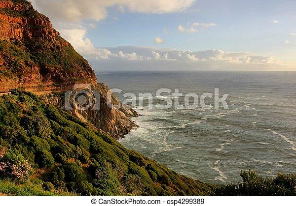 Beautiful Coastline - csp4299389