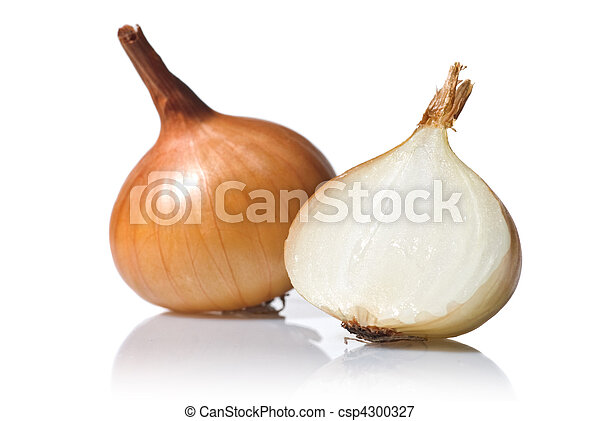 onion isolated on white - csp4300327