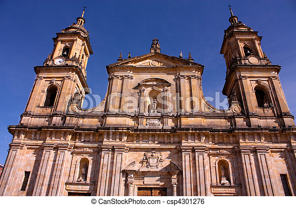 Cathedral of Bogota, Colombia - csp4301276