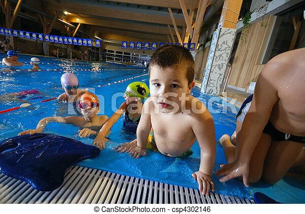 .happy swimmers - csp4302146