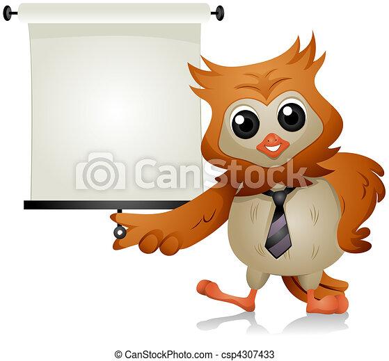Owl Lecture - csp4307433