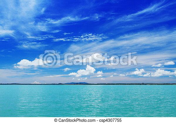 Tropical vacation destination - csp4307755