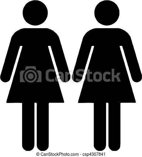Lesbian Clip Art 112