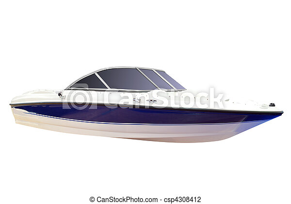 luxury speed boat - csp4308412