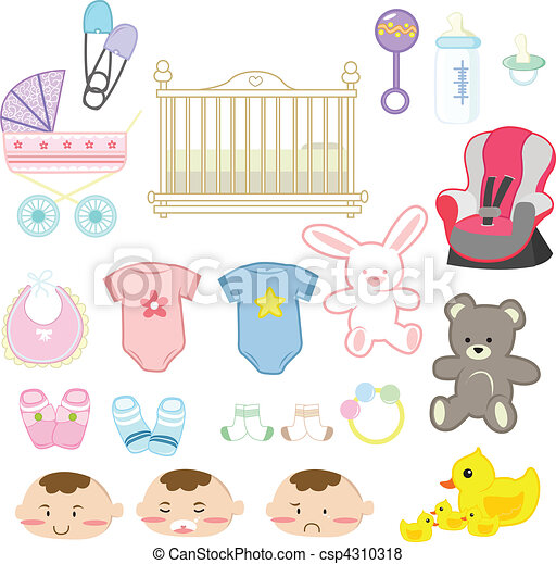 Baby items - csp4310318