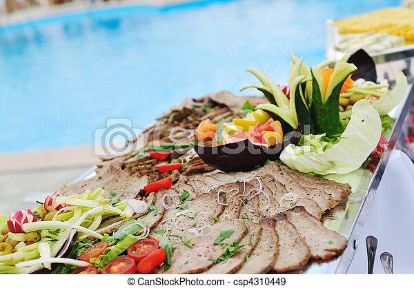 buffet outdoor
